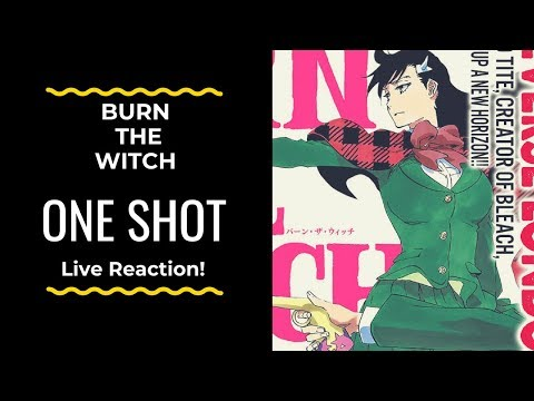 Burn the witch (One Shot) Live reaction! - The Return of my man Kubo!