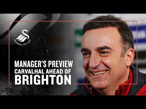 Press Conference Live: Carlos Carvalhal ahead of Brighton