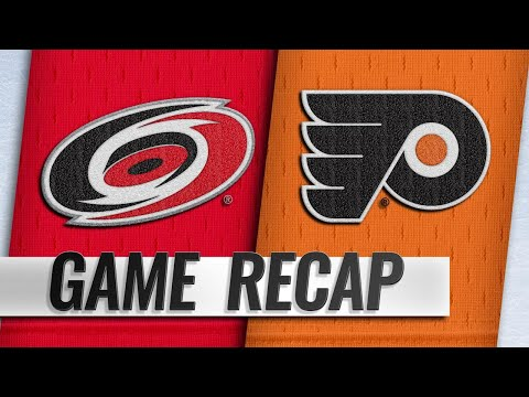 Hurricanes hold off Flyers' late push for 5-3 win