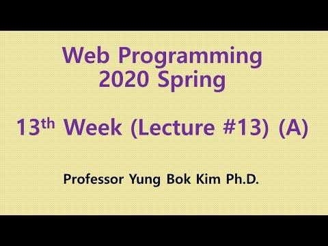 Web Programming [LEC#13(A): JQuery]