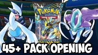 HYPE! 45+ Lost Thunder Pack Opening On PTCGO