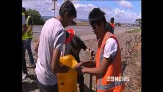 Australia Cleanup Day 4 March 2012 9 News