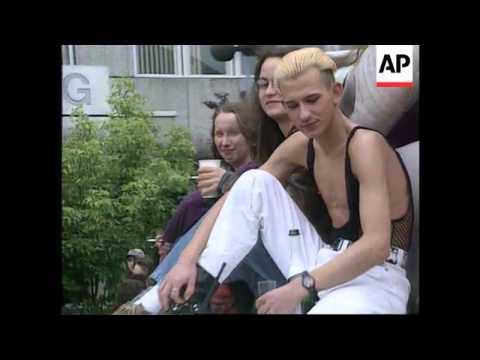 GERMANY - GAY PRIDE DEMONSTRATION