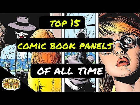 Top 15 Comic Book Panels