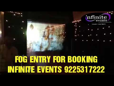 FOG ENTRY BOOKING CONTENT INFINITE EVENTS 9225317222