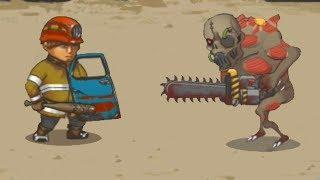 Люди против Зомби! Прохождение Human vs Zombies a zombie defense game #1