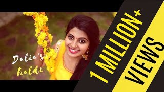 SINGLE SHOT Wedding Song Video - Dalia's Viral Haldi