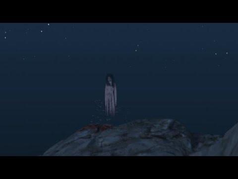 GTA 5 PS4 Easter Egg Ghost Girl - YouTube