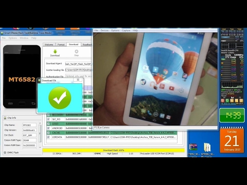 Archos 70b Xenon Tablet Firmware Flash Rom