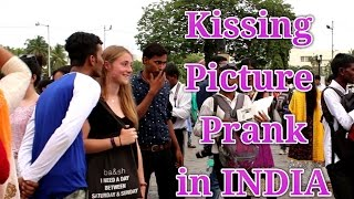 KISSING PICTURE PRANK IN INDIA