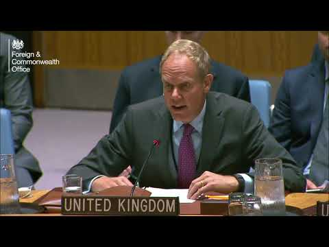 UN Security Council debate on North Korea