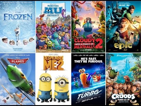 Worst to Best: Animated Movies of 2013