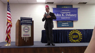 Congressman Delaney Hagerstown Town Hall - Part 1