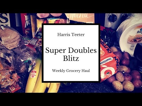 Harris Teeter  ||  Super Doubles Coupons ||  Blitz Weekly Grocery Haul