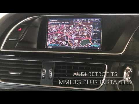 Audi A4 3g Mmi Low To 3g Plus Retrofit