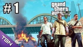 GTA 5 Gameplay en Español - Capitulo 1 - HD 720p