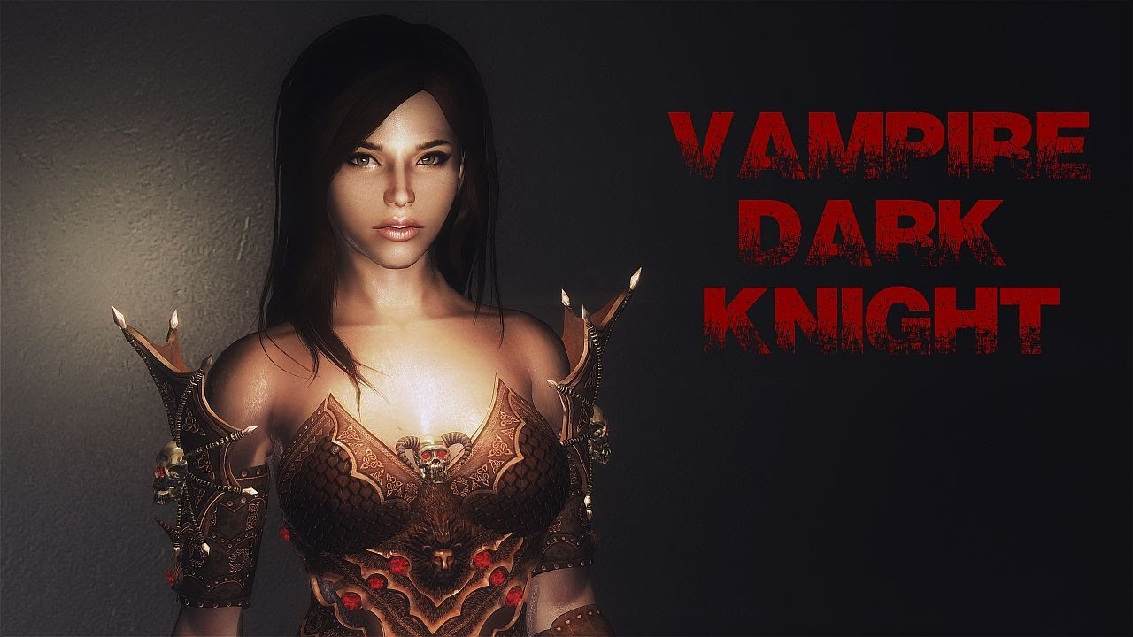 Skyrim: Vampire Dark Knight Armor by TirexiHD