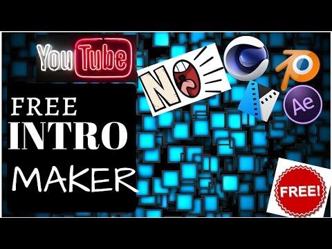 free intro maker online no watermark no software required 100% free hindi  tutorial 2017