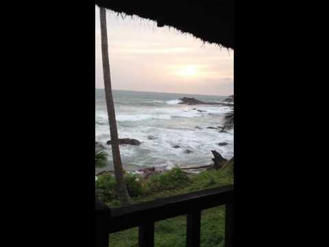 Sunset Axim Ghana