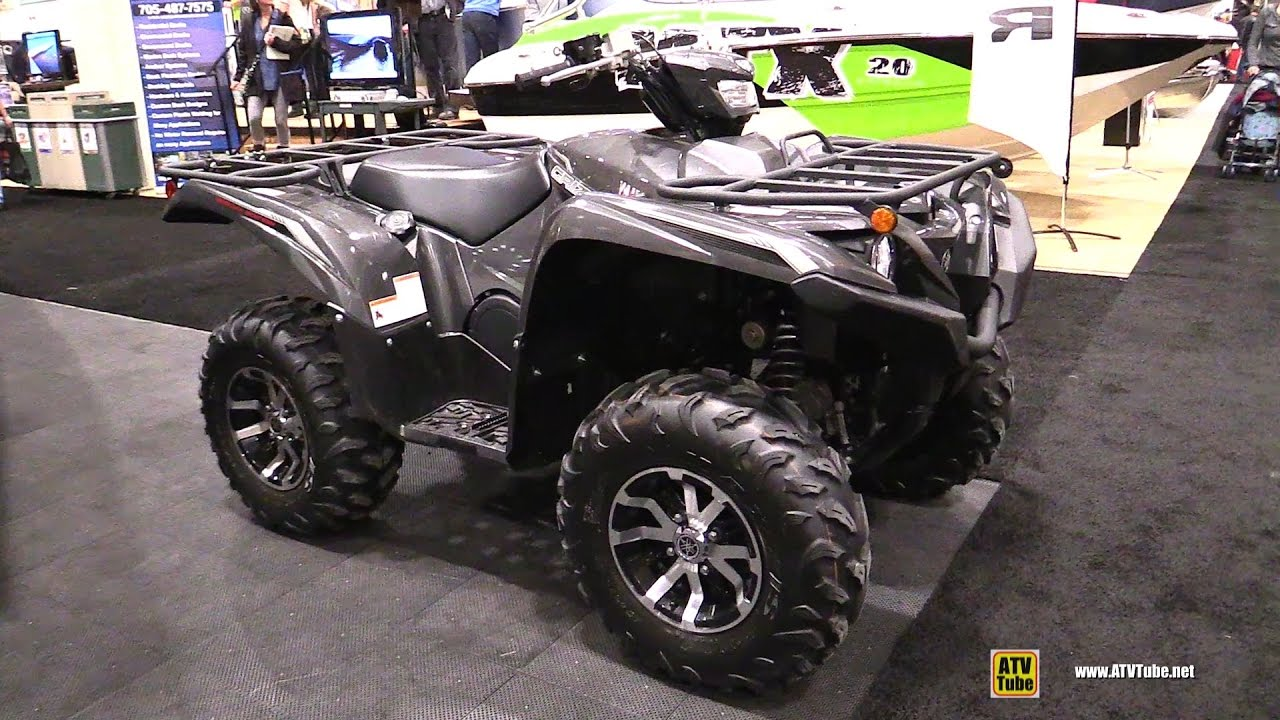 2017 Yamaha Grizzly >> 2017 Yamaha Grizzly 700 Se Walkaround 2017 Toronto Boat Show