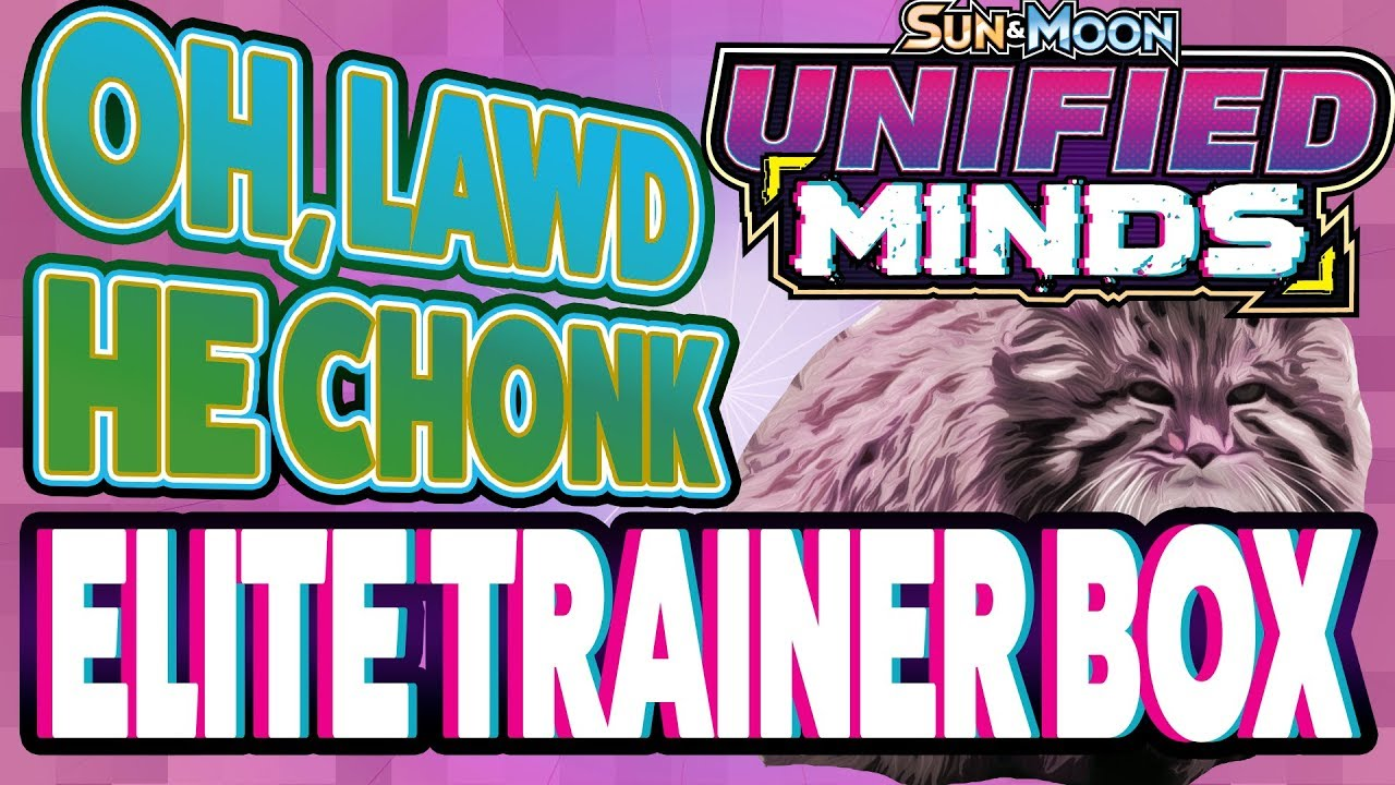 Chonkiest Set - Unified Minds Elite Trainer Box Opening