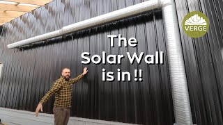 Free Greenhouse Heat - Adding a Solar Wall To Our Passive Solar Greenhouse