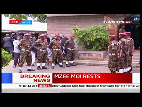 Mzee Moi Rests: Kenya Defence Forces take over activities at Lee funeral home