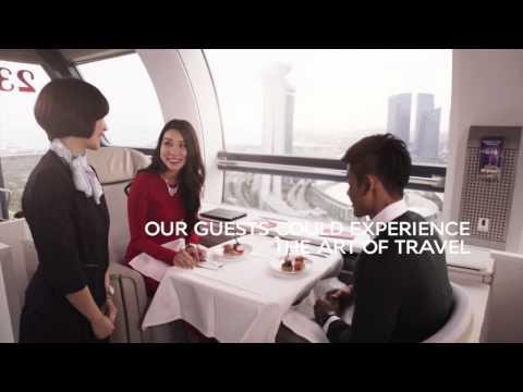 Air France La Premiere suite aboard Singapore Flyer