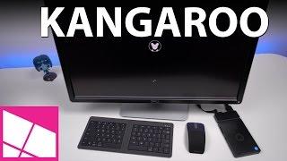 Kangaroo Mobile Desktop review: Windows 10 PC for $99