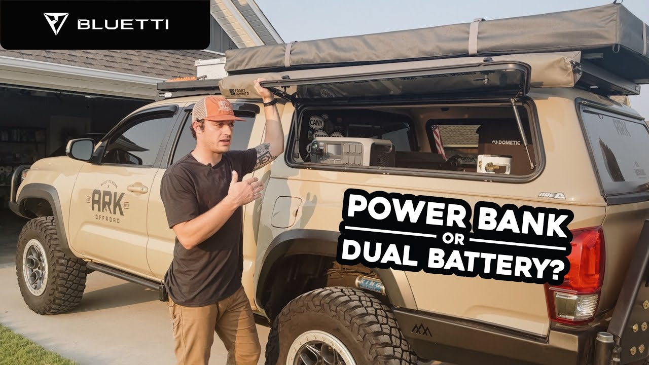 Power Bank or Dual Battery for Overlanding? Bluetti AC200P Thoughts & Impressions