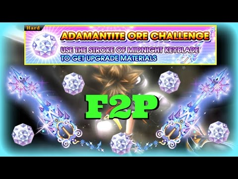 KH Union χ[Cross] F2P Stroke Of Midnight Adamantite Ore 1~5