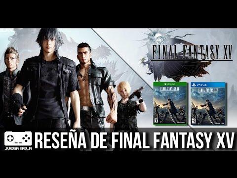 ¿Vale la pena comprar Final Fantasy XV?