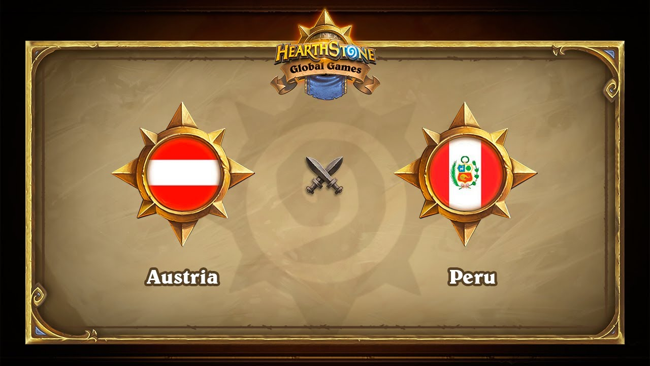 Австрия vs Перу, Hearthstone Global Games Phase 2