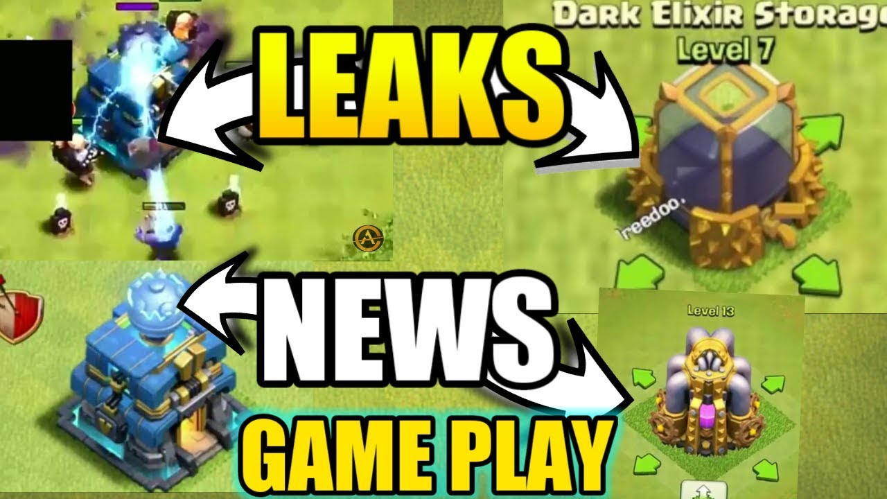 NEWS OFFICIAL TH12 LEAKS FROM SUPERCELL IN CLASH OF CLANS