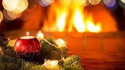 Kaminfeuer an Weihnachten (4K) Knisterndes Kaminfeuer für eine entspannte Atmosphäre