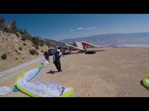 Paragliding in Owens Valley