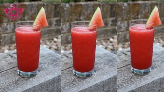How To Make Watermelon Fresh Juice - Google Hangout