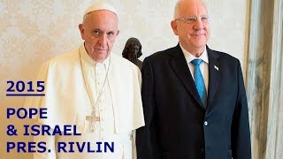 ISRAEL & POPE ...united in Official Contract; Excludes Palestinians/Muslims Altogether