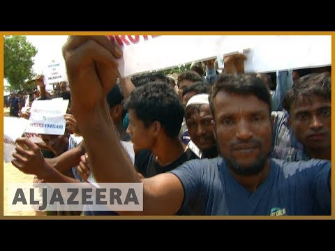 🇲🇲 Rohingya demand justice as UN delegation visits Bangladesh camps | Al Jazeera English