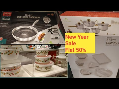 homecentre new year special offer|kitchen essentials|flat 50% off on cookware sets