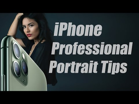 How to take Professional Portraits with an iPhone 6s