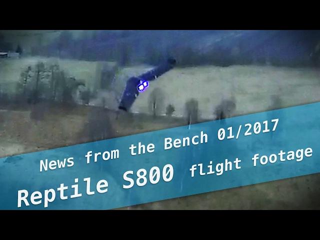 S800 Sky Shadow flight footage