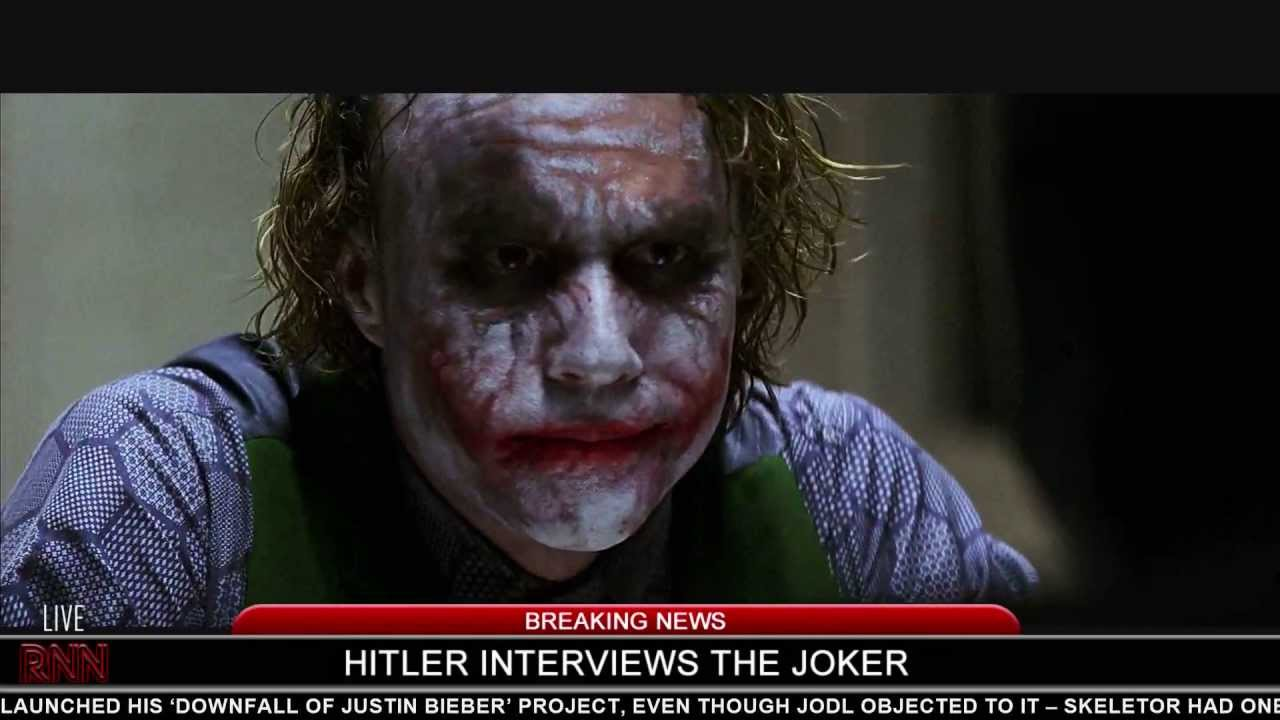 Hitler interviews The Joker
