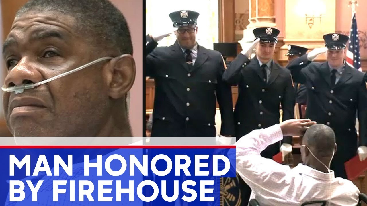Black Man who visited firehouse for 55 years has favor returned