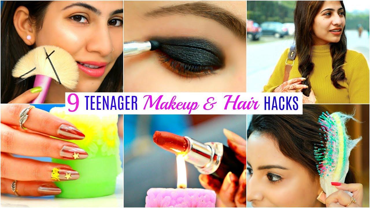12 TEENAGERS Life Saving HACKS - Makeup, Hair & Beauty  #Fun #Anaysa