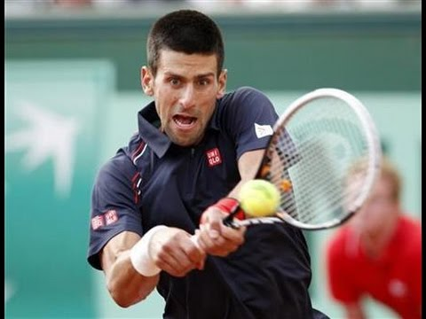 Novak Djokovic's Coach Boris Becker looks ahead to Wimbledon