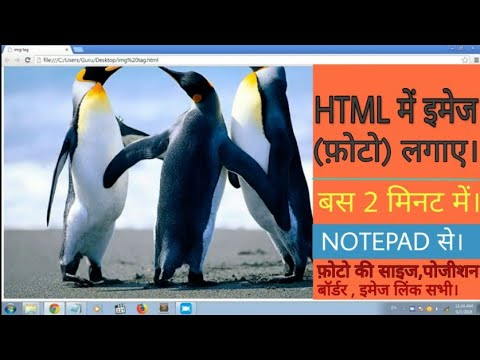 How To Insert Images  In Html Webage.using Img Tag! Learn Html Episode-2|| By Tech Forever