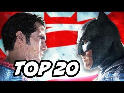 Batman V Superman TOP 20 Easter Eggs