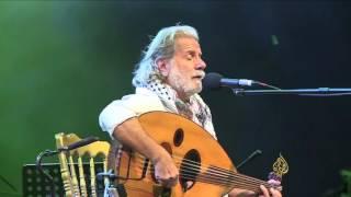 مارسيل خليفة يصدح بأغاني المقاومة في مهرجان عمان