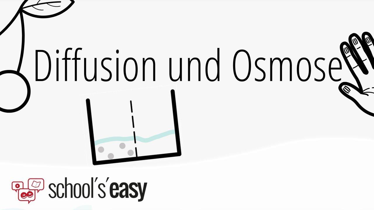 Diffusion Und Osmose